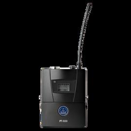 PT4500 Band5-AB 10mW - Black - Reference wireless body-pack transmitter - Hero