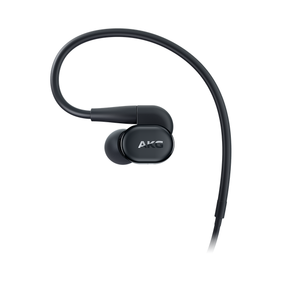 AKG N30 - Black - Hi-Res in-ear headphones with customizable sound - Left