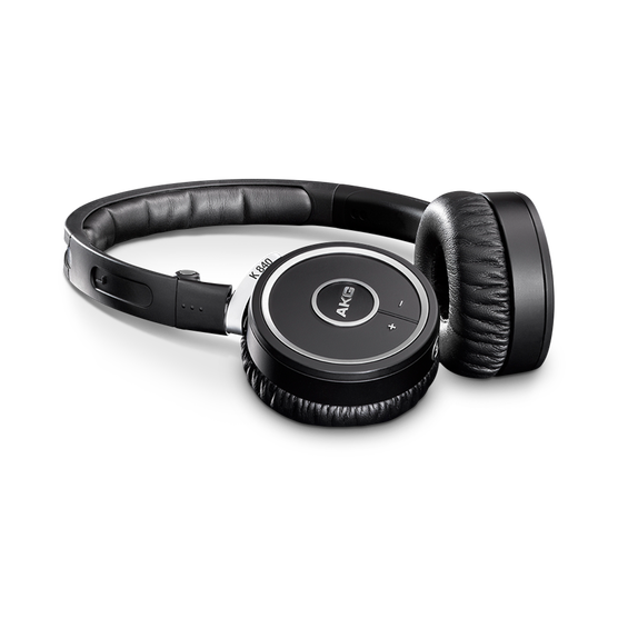 K840KL - Black - Wireless on-ear headphones - Detailshot 1