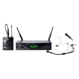 WMS470 Presenter Set Band1 50mW EU/US/UK - Black - Professional wireless microphone system - Hero