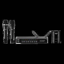 DMSTETRAD - Black - Professional four channel digital wireless system - Hero