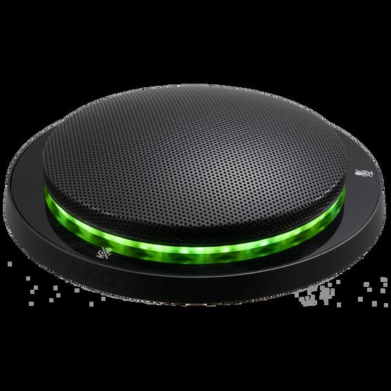 CBL301 - Black - Triple element, professional low-profile boundary layer microphone - Hero