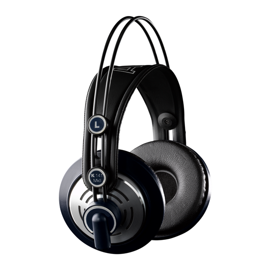4142e0a9662 K141 MKII (discontinued) | Professional semi-open studio headphones