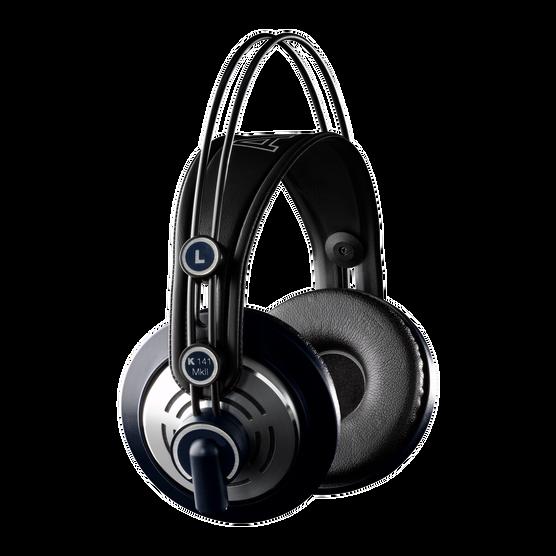 K141 MKII (discontinued) - Black - Professional semi-open studio headphones - Hero