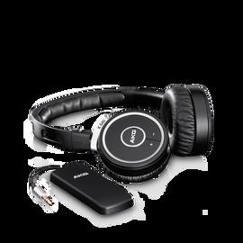 K840KL - Black - Wireless on-ear headphones - Hero