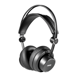 K175 - Black - On-ear, closed-back, foldable studio headphones - Hero