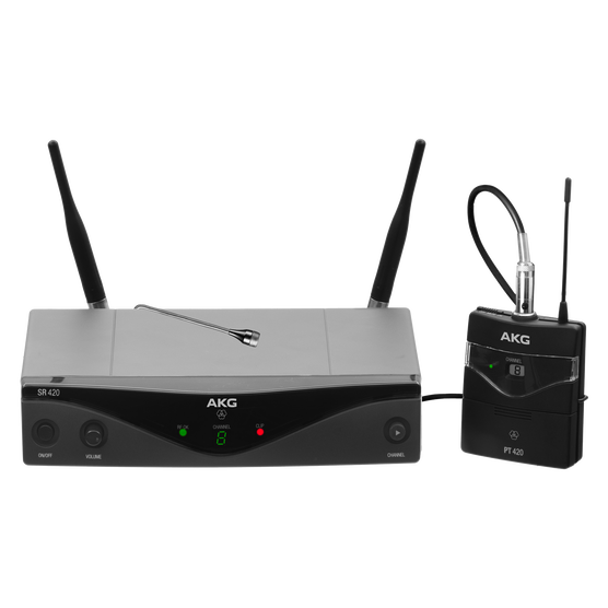WMS420 Presenter Set Band-A (B-Stock) - Black - Professional wireless microphone system - Detailshot 1