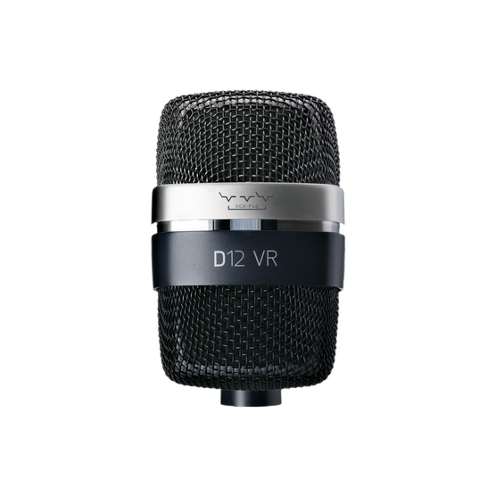 D12 VR - Black - Reference large-diaphragm dynamic microphone - Detailshot 1