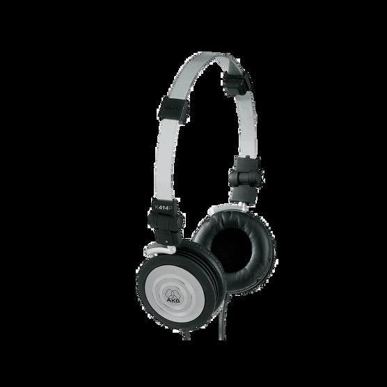 K414 P - Black - Lightweight closed-back headphones - Hero