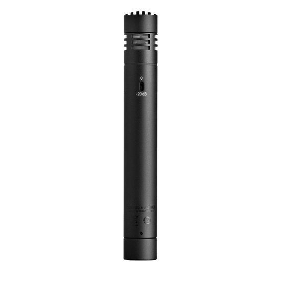 P170 - Black - High-performance instrument microphone - Back