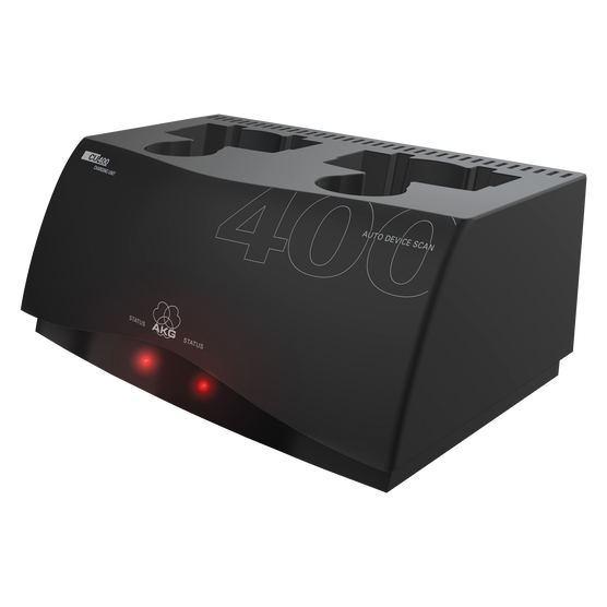 CU400 - Black - Charging unit for WMS420, WMS450 and WMS470 series transmitters - Detailshot 1