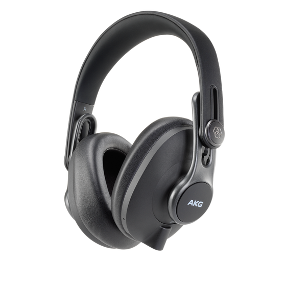K371-BT - Black - Over-ear, closed-back, foldable studio headphones with Bluetooth - Hero