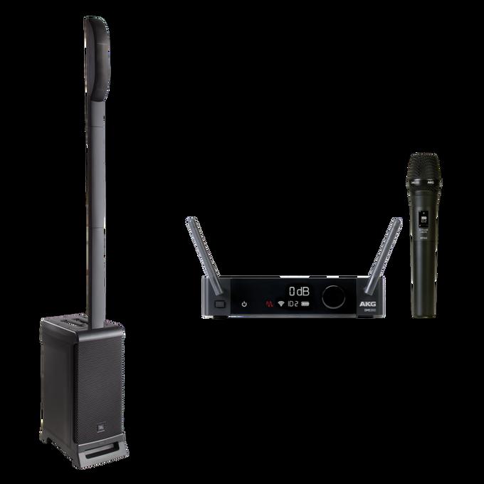JBL EON ONE PRO + AKG DMS300 Microphone Set Bundle
