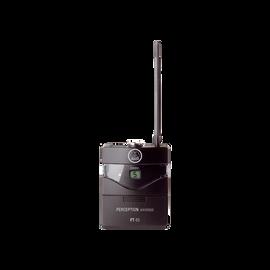 PT45 - Black - High-performance wireless body-pack transmitter - Hero