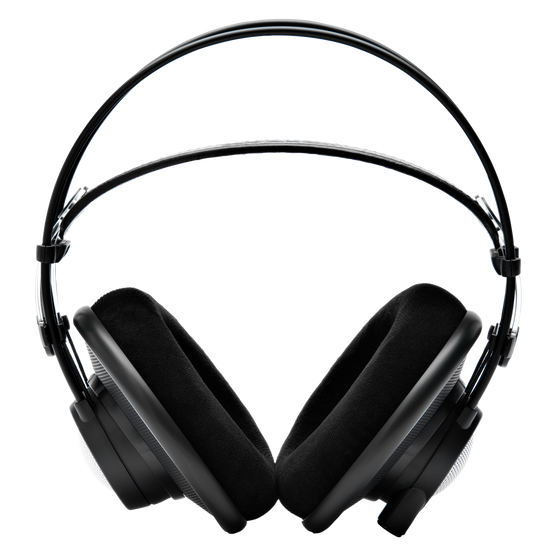 K702 - Black - Reference studio headphones - Front