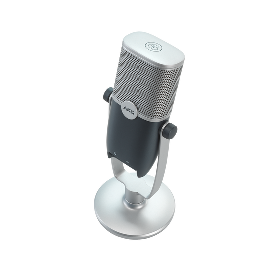 AKG Ara - Blue - Professional Two-Pattern USB Condenser Microphone - Detailshot 2