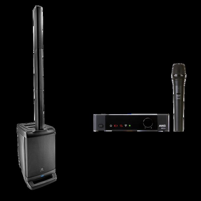 JBL EON ONE + AKG DMS100 Microphone Set Bundle