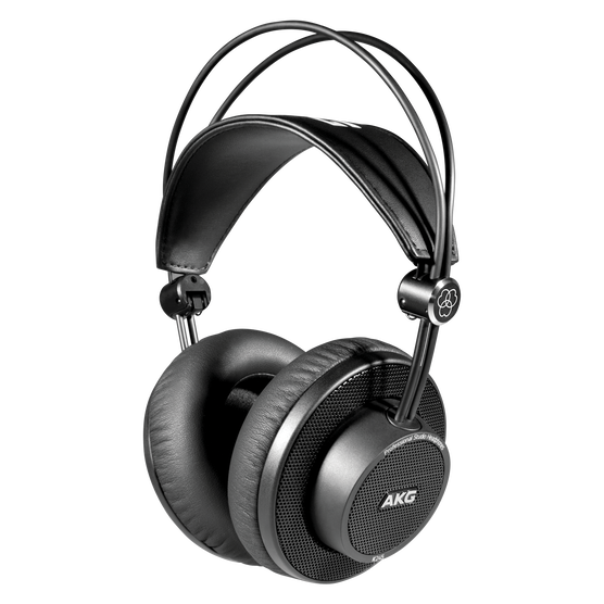 K245 - Black - Over-ear, open-back, foldable studio headphones - Hero
