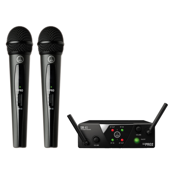 WMS40 Mini Dual Vocal Set | Wireless microphone system