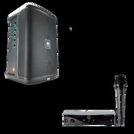 JBL EON ONE Compact + AKG Perception Wireless Vocal Set Bundle