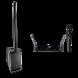 JBL EON ONE + AKG DMS300 Microphone Set Bundle