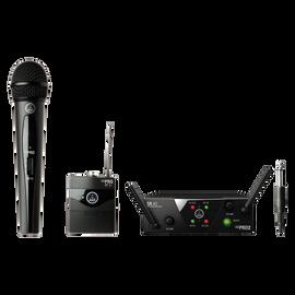 WMS40 Mini Dual Vocal Instrumental Set Band-US25-A/C - Black - Wireless microphone system - Hero