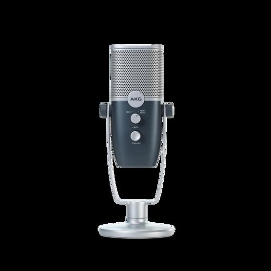 AKG Ara - Blue - Professional Two-Pattern USB Condenser Microphone - Detailshot 3