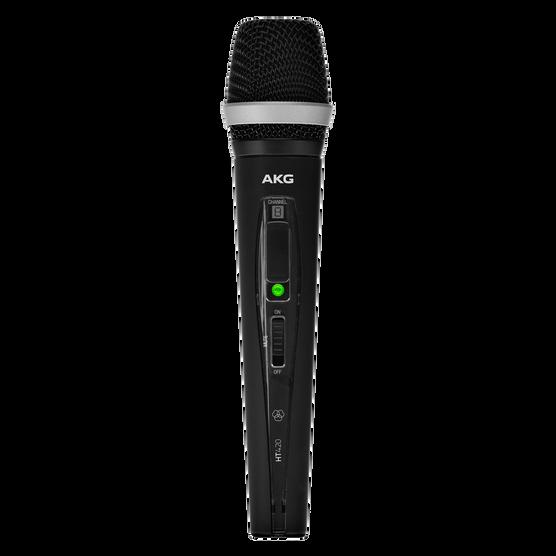 HT420 - Black - Professional wireless handheld transmitter - Hero