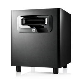 "JBL LSR310S - Black - 10"" Powered Studio Subwoofer - Hero"