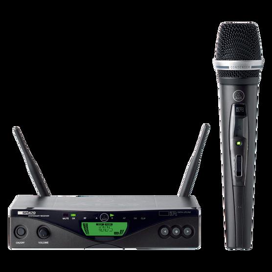 WMS470 Vocal Set C5 - Black - Professional wireless microphone system - Hero