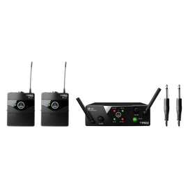 WMS40 Mini Dual Instrumental Set Band-US25-A/C - Black - Wireless microphone system - Hero