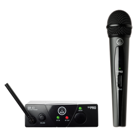 WMS40 Mini Single Vocal Set - Black - Wireless microphone system - Hero