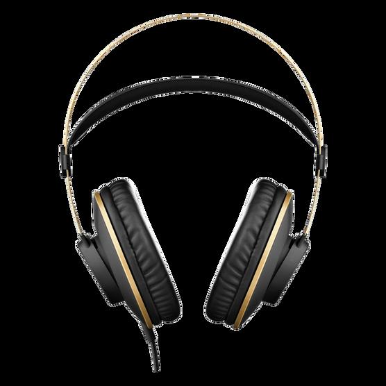 K92 - Black - Closed-back headphones - Front