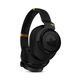 N90Q - Black - Reference class auto-calibrating noise-cancelling headphones - Hero