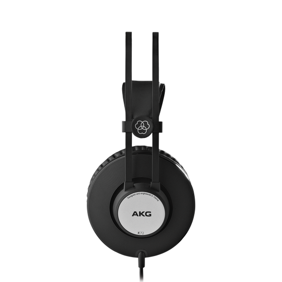 K72 - Black - Closed-back studio headphones - Left