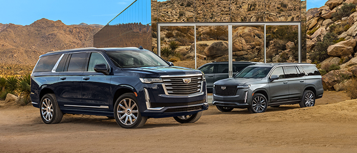 Build Yours: Configure your Cadillac