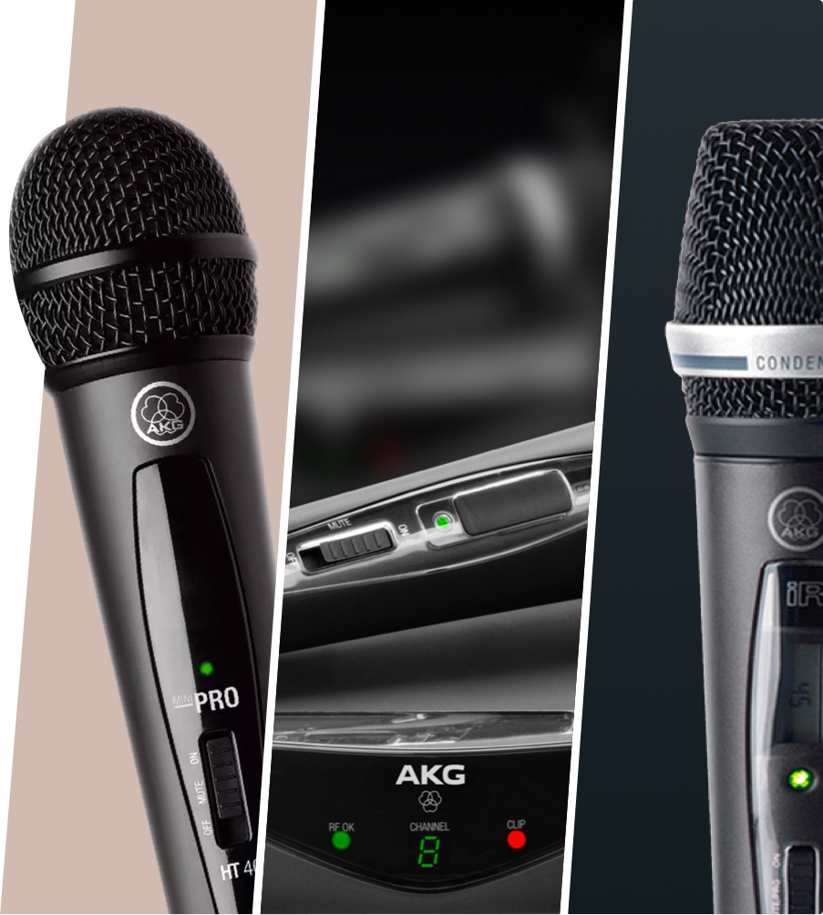 AKG wireless products