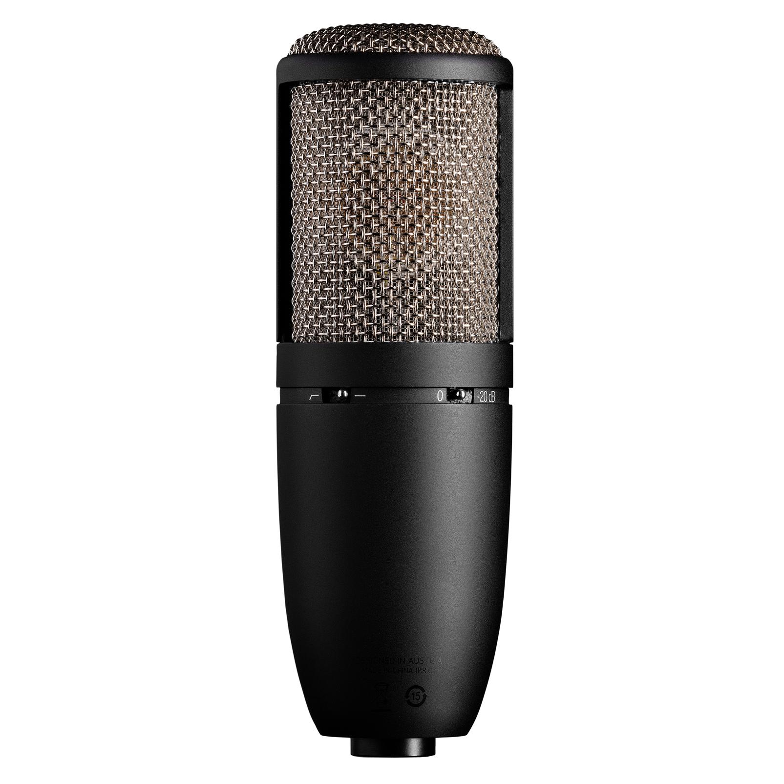 P420 High Performance Dual Capsule True Condenser Microphone Multidirectional Amplifier