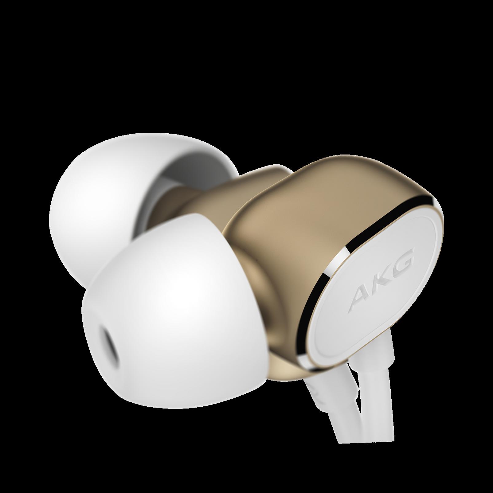 N20 - Gold - Reference class in-ear headphones in aluminum enclousure - Detailshot 2