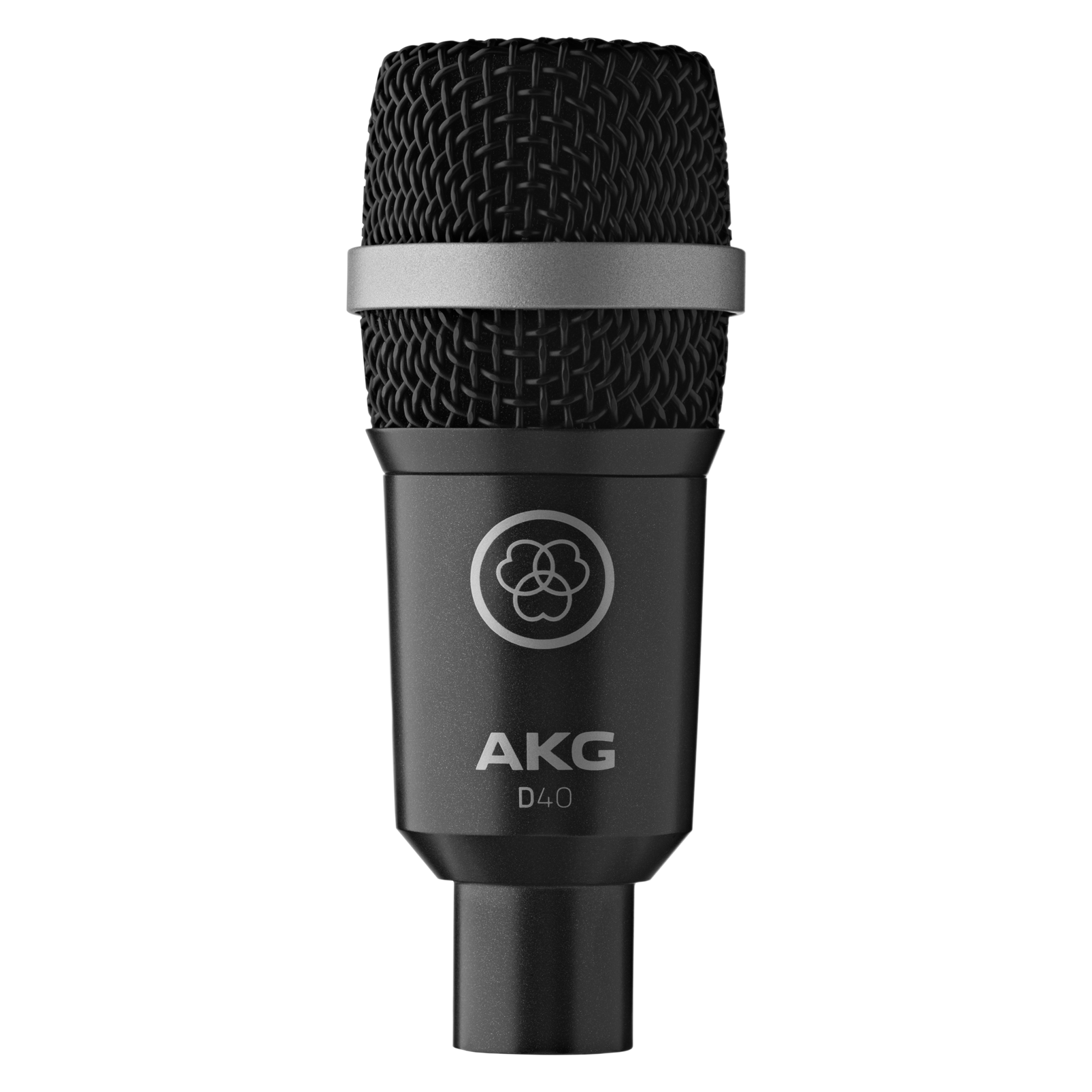 D40 - Black - Professional dynamic instrument microphone - Hero