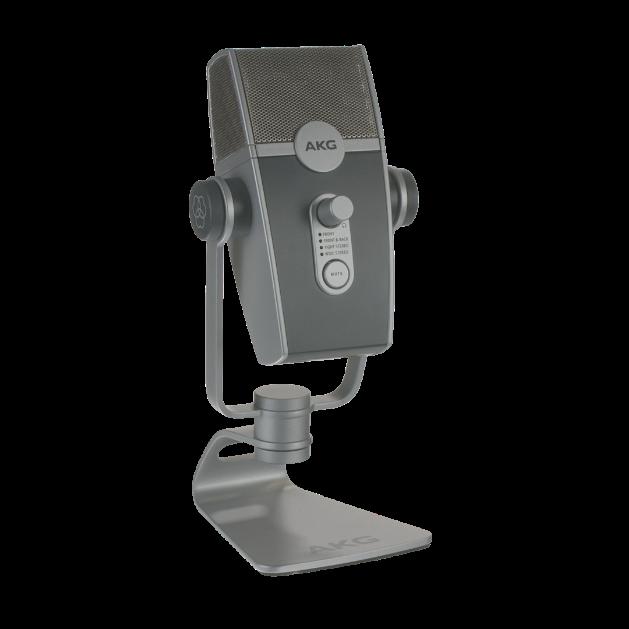 AKG Lyra - Silver - Ultra-HD Multimode USB Microphone  - Detailshot 15