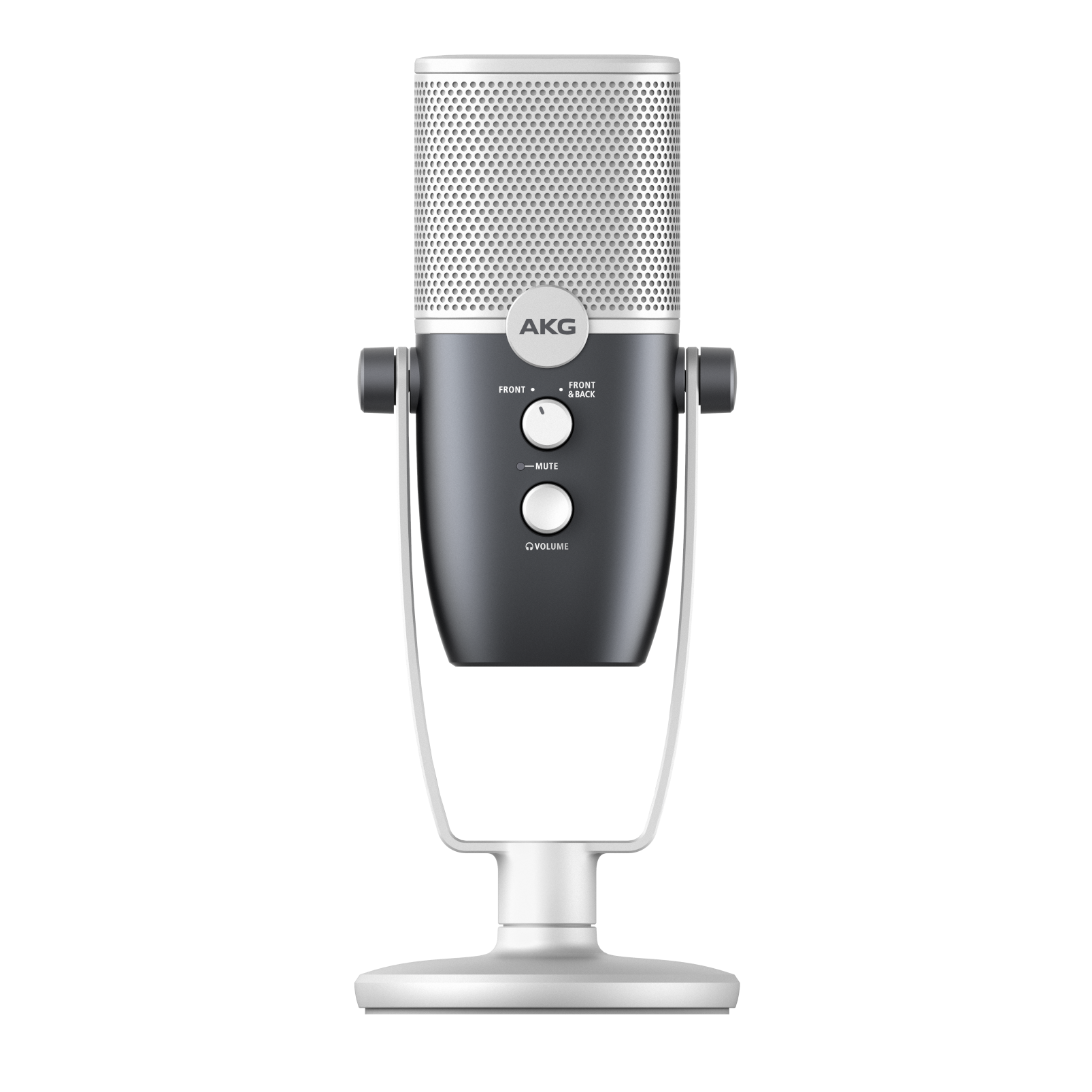 AKG Ara - Blue - Professional Two-Pattern USB Condenser Microphone - Front