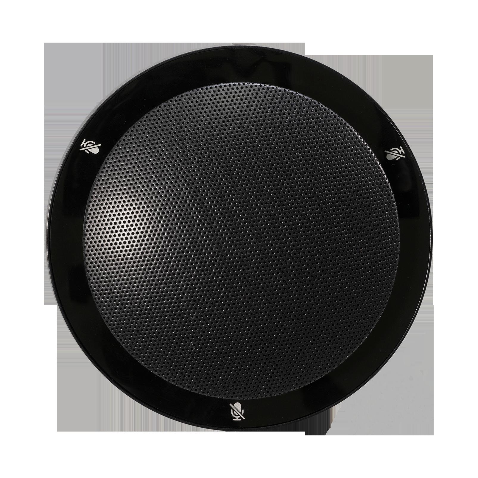 CBL301 - Black - Triple element, professional low-profile boundary layer microphone - Front