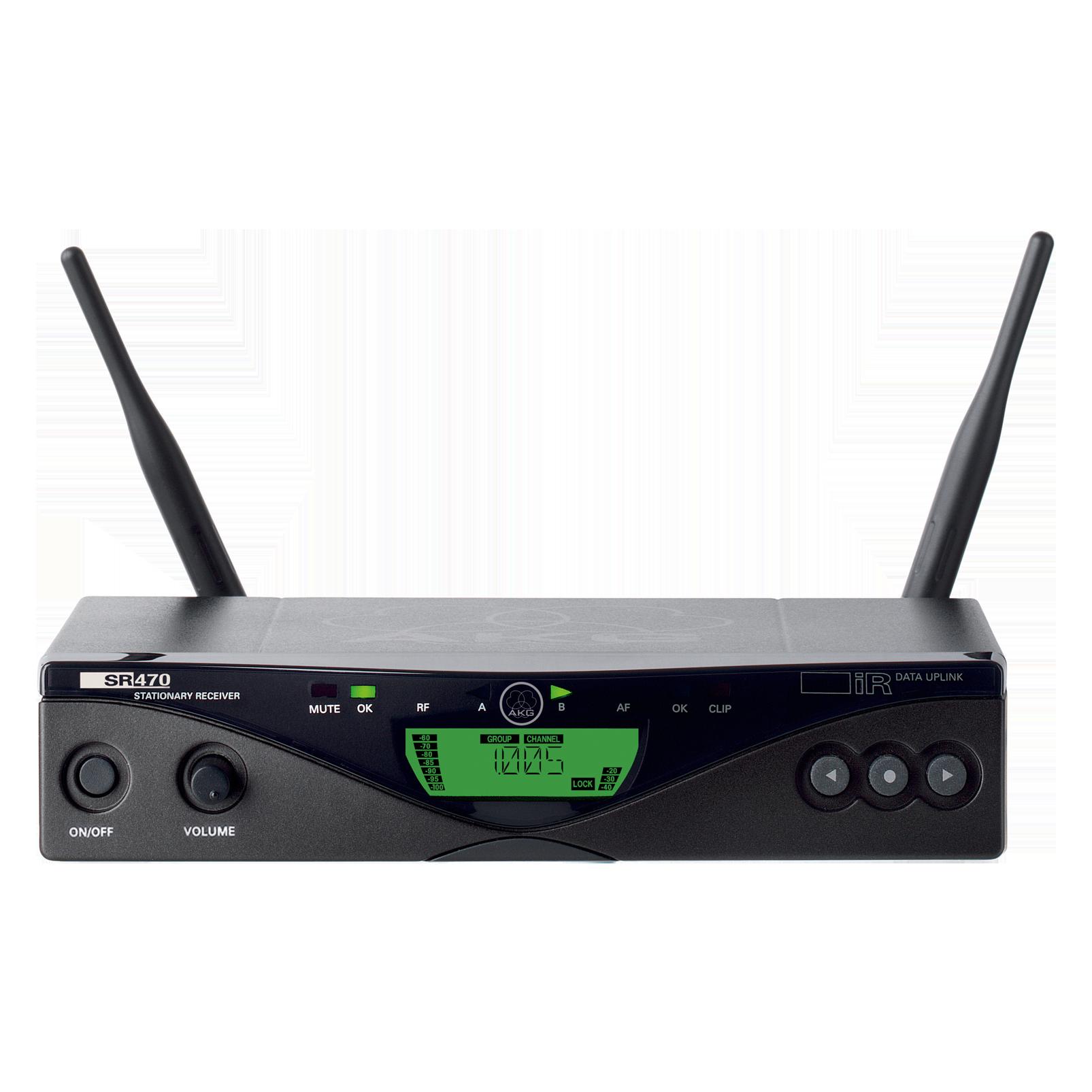 SR470 Band-7 (B-Stock) - Black - Professional wireless stationary receiver - Hero