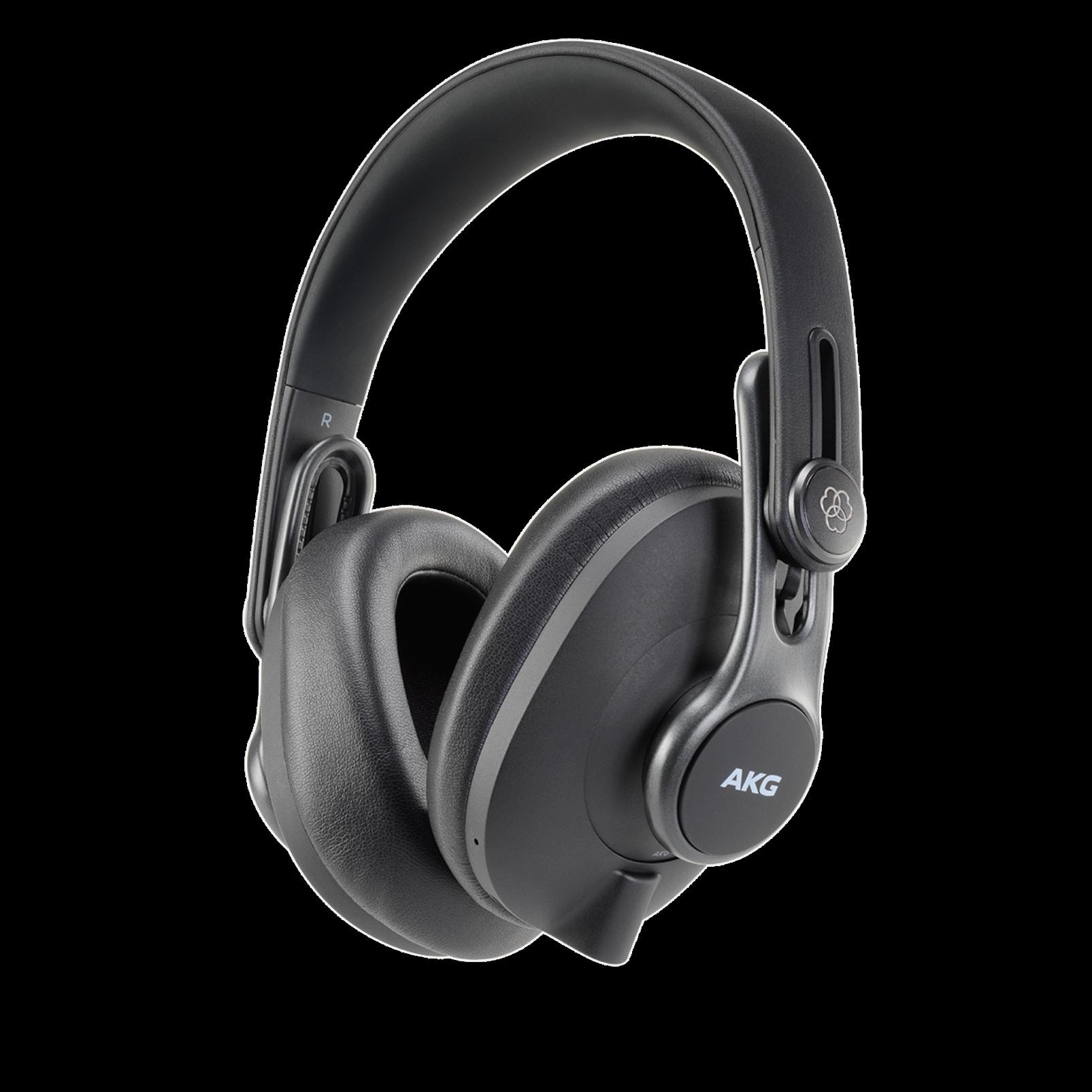 K371-BT - Black - Over-ear, closed-back, foldable studio headphones with Bluetooth - Hero