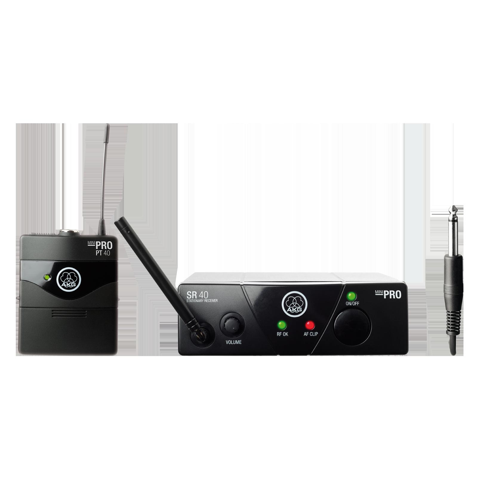 WMS40 Mini Instrumental Set Band-US25-C (B-Stock) - Black - Wireless microphone system - Hero