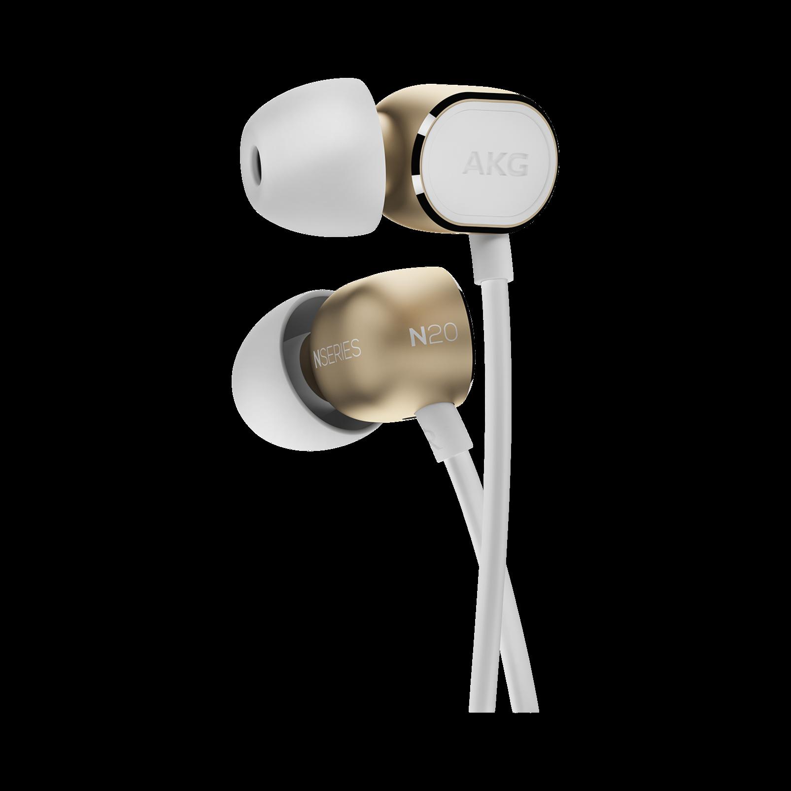 N20 - Gold - Reference class in-ear headphones in aluminum enclousure - Detailshot 1