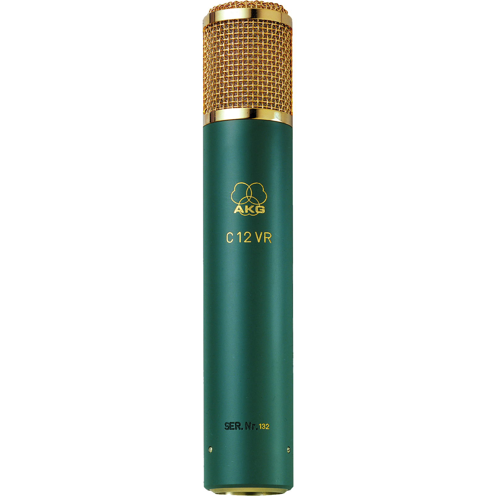 C12 VR - Green - Reference multi-pattern tube condenser microphone - Hero