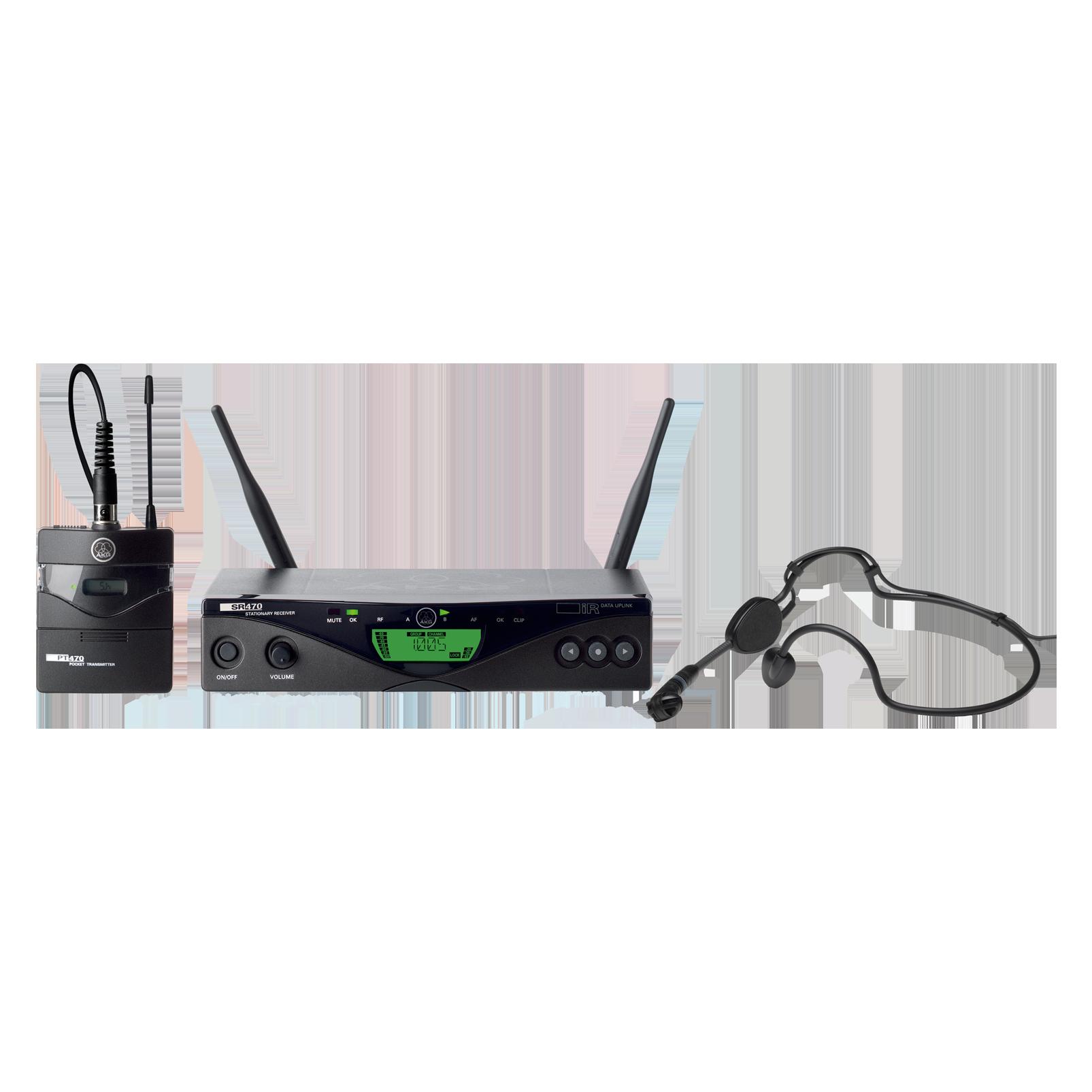 WMS470 Sports Set - Black - Professional wireless microphone system - Hero