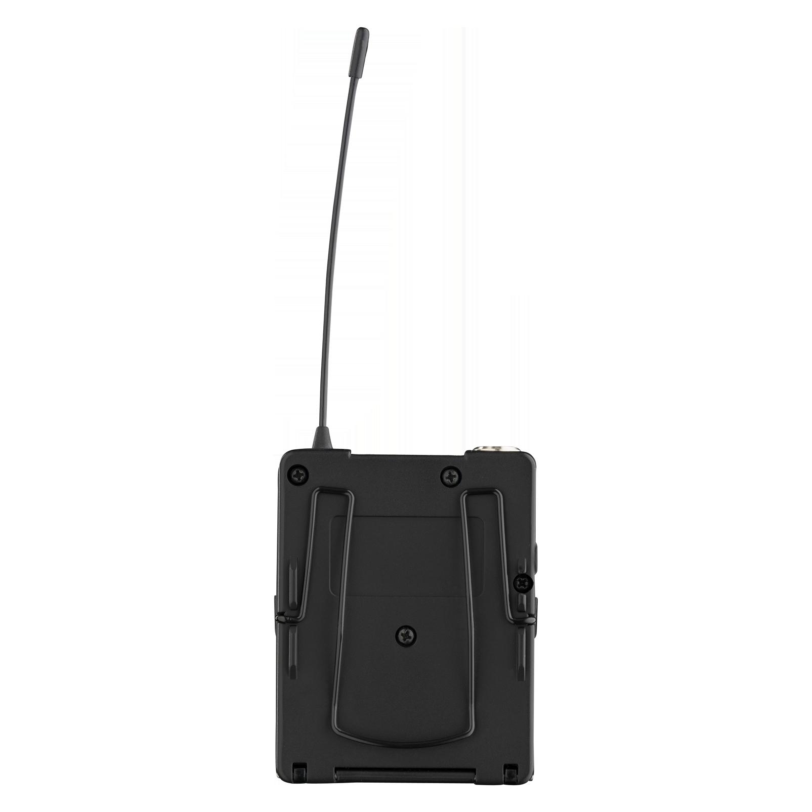 DPT800 Band1 50mW (B-Stock) - Black - Reference digital wireless body pack transmitter - Back